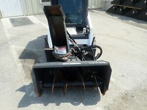 2016 Bobcat Sb150 36 Snowblower For Mt55 Mt85 S70 Skid Steer Loaders 2 Stage