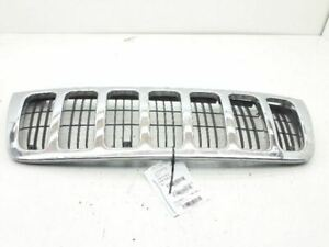 1999 2003 Jeep Grand Cherokee Front Grille Grill Chrome 22131