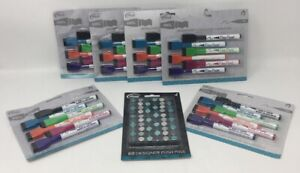The Board Dudes Fine Point 6 6pk Dry Erase Markers And 1 60pk Teal Push Pins