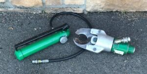 Greenlee 1725 Hydraulic Foot Pump Cable Cutter Head Hose Unit Wire 751 m2 750 3