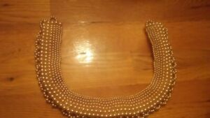 Antique Vintage Pearl Bib Collar Necklace