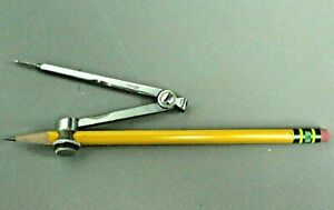 Dixon Ticonderoga 13882 785 Soft Pencil Geyer Metal Compass Pin Math Geometry