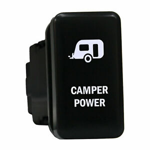 12v Push Switch 865w Camper Power Led White On Offfor Toyota Highlander Tacoma 3