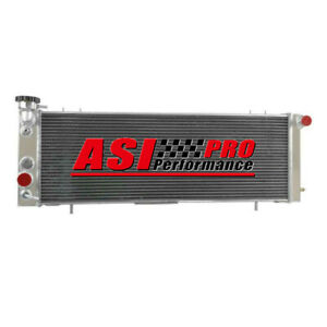 4 Row Aluminum Radiator For 1991 2001 1992 1993 Jeep Cherokee Xj 4 0l At Mt Pro