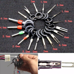 26x Car Wire Terminal Removal Tool Kit Wiring Connector Pin Extractor Puller Set
