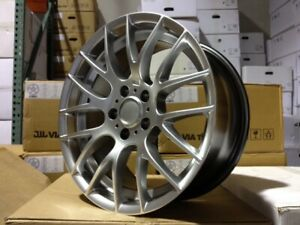 18 M3 Csl Wheels Rims Hyper Silver Style 359m Zcp Zhp Csl Staggered Fits Bmw