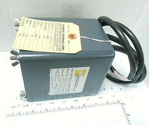 Bpe16 1 5 Universal Voltronics Power Supply 16 Kilovolts 1 5 M a New Old Stock