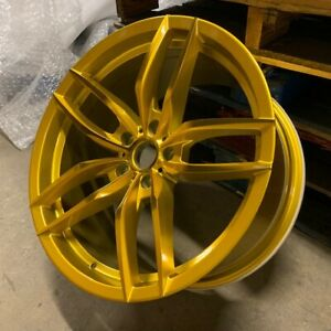 19 Gold Voss Style Staggered Wheels Rims Fits 2015 Ford Mustang