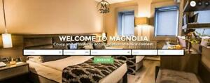 Bespoke Custom Hotel Lodging Bed And Breakfast website Web Design Service