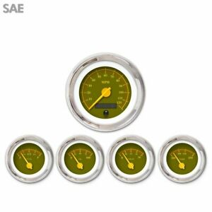 5 Ga Set Sae Omega Olive Yellow Mod Nedl Chrome Trm Rings Style Kit Diy