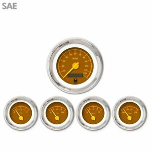 5 Ga Set Sae Omega Brown Yellow Mod Nedl Chrome Trm Rings Style Kit Diy
