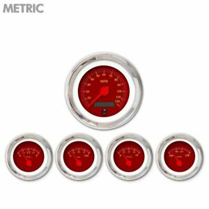 5 Ga Set Metric Omega Rd Rd Mod Needles Chrome Trim Rings Style Kit Diy