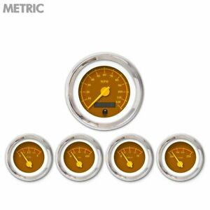 5 Ga Set Metric Omega Brown Yellow Mod Nedl Chrome Trm Rings style Kit Diy