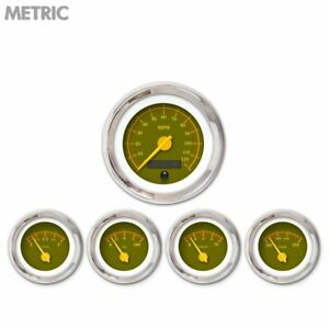 5 Ga Set Metric Omega Olive Yellow Mod Nedl Chrome Trm Rings style Kit Diy