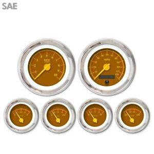 6 Ga Set Sae Omega Brown Yellow Mod Nedl Chrome Trm Rings Style Kit Diy