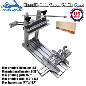 Us Manual Cylinder Screen Printing Machine Used Cylinder Screen Printing Machine