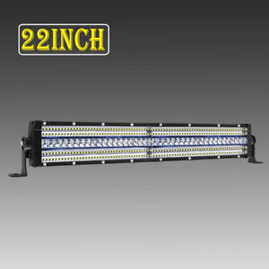 5row 22 Inch 5760w Led Light Bar Offroad 4x4wd For Jeep Ford Truck Atv 20 21 23