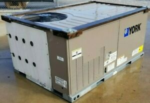 York Prestige Series Commercial Grade 3 Ton 208 230 3 Phase Gas Package Unit