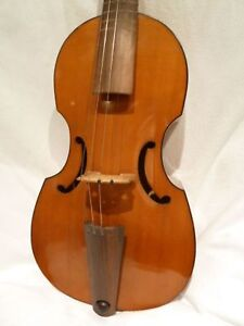 Private Collection To Sell 18 A Fine Older German Viola Da Gamba By H Moeck