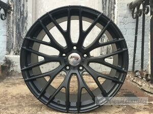19 Matte Black A1 Mesh Style Wheels Rims Fits Bmw 528i 535i 5 Series Awd Only