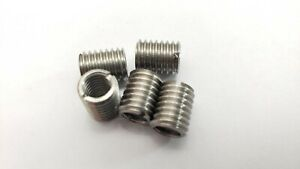 5 X Thread Adapters M8 8mm Male To M6 6mm Female Threaded Reducers