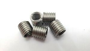 5 X Thread Adapters M10 10mm Male To M8 8mm Female Threaded Reducers