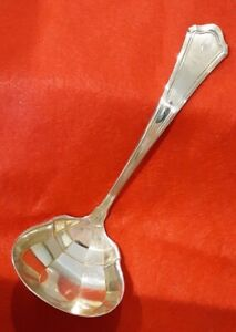 Wallace Washington Sterling Silver 6 Gravy Ladle Monogrammed