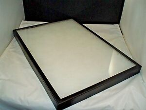 Two 14 X 20 X 7 8 Jewelry Display Case Riker Mount Display Box Collector Glass