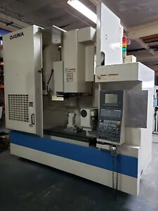 Okuma Mx 55va Full 4 axis Cnc Vertical Machining Center W Rotary Table 40x20