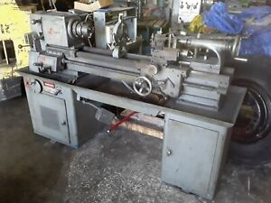 Logan 14 Model 6565 Variable Speed Lathe Steady Rest Tail Stock Qc Post
