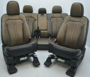 2011 2012 2013 2014 2015 Lincoln Mkx Front Rear Heated Cooled Leather Seats