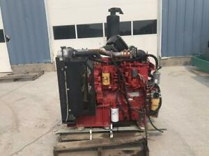 C4 4 Cat Industrial Power Unit W Rad And Controls 130 Hp Year 2012