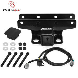 2 Trailer Hitch Kit For Jeep 2007 2008 2009 2010 2011 2012 Wrangler Jk Jku