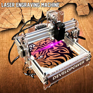 Laser Engraver Cutting Machine Desktop Mark Logo Engraving Printer 2000mw