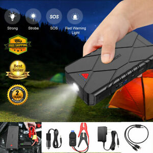 Suaoki Car Jump Starter Pack Booster Engine Battery Charger Power Bank 3usb New