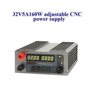 Dc Regulated Power Supply 32v5a Adjustable Power Supply Precision Portable Power