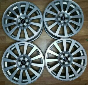 Subaru Bbs Forged Wheel Rims R17 Et 48 5x100 Jdm Set Light Weight Rare