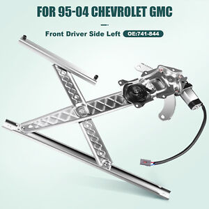 For Ford F150 F250 Truck Heritage Power Window Regulator Front Left With Motor