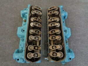 1973 Pontiac Trans Am 400 455 Dated Coded Engine Heads