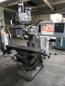 Bridgeport Ez trak 3 axis Cnc Mill Milling Machine New Control Panel W Led