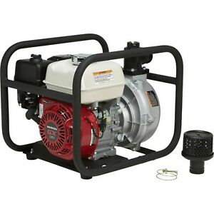 Northstar High pressure Water Pump 8 120 Gph 94 Psi 2in Ports 160cc Honda