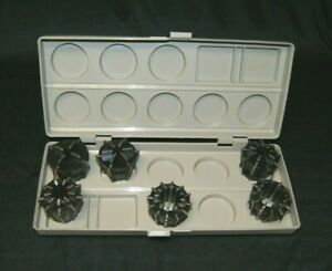 Jacobs 500 Series 6 Pc Rubber Collet Set W Case