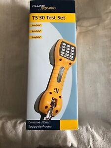 Fluke Networks 30800009 Test Set ts30 W Abn waterproof