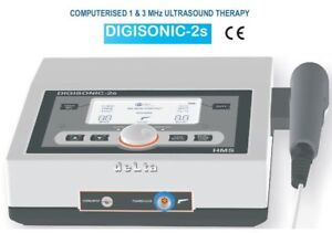 New Physiotherapy Ultrasound Therapy 1mhz 3mhz Frequency Digisonic 2s Machine