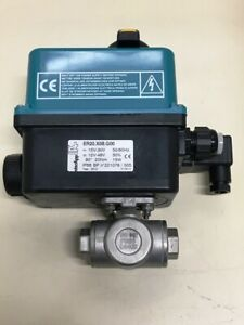new Interapp Er20 x0b g00 electric 90 Rotary Actuator With Manual Override