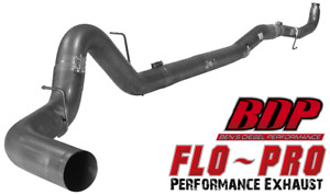 5 Flo Pro Downpipe Back Exhaust 2011 14 Lml Duramax 664nm