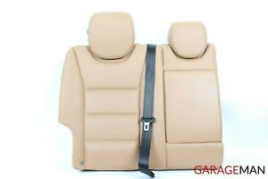 03 06 Porsche Cayenne 955 Rear Right Side Top Upper Seat Cushion Cover Beige Oem