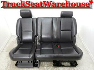 Yukon Tahoe 2nd Row Bench Truck Seat Denali 2010 Short Chev