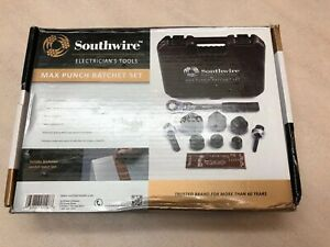 Southwire Mpr 01sd Max Punch Ratchet Knock Out Set