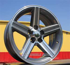 4 New Iroc 20x8 5 5x4 75 10 Gunmetal Machine Chevrolet Pontiac Oldsmobile